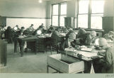 Zoology class, The University of Iowa, 1920s