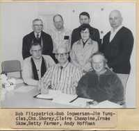 Commissioners and Office Staff.