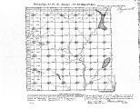 Iowa land survey map of t091n, r047w
