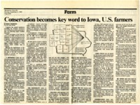 Conservation Key Word to Iowa