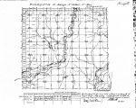 Iowa land survey map of t068n, r031w