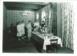 Private dining room in the Iowa Memorial Union, the University of Iowa, circa 1930