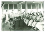 Nursing class, The University of Iowa, 1920s