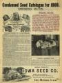 Iowa Seed Company Catalog 1908 Emergency Edition