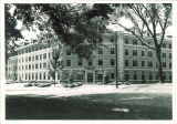 Currier Hall north entrance, The University of Iowa, 1940