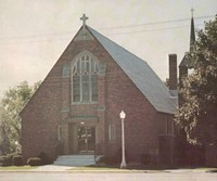 St. Peter Lutheran Church in Garnavillo, Iowa -1983