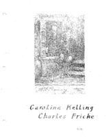 Fricke Family Genealogy - Carolina Kelling & Charles Fricke (Part II)