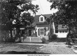 Home of Mrs. (Chaffee) Mavis Hady, Iowa City, Iowa, between 1930 and 1935