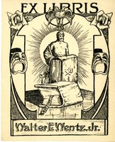 Walter E. Wentz, Jr Bookplate