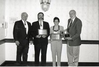 1999 - Tami Plein Receives Outstanding Conservation Teacher Award