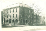 North and east exterior of the Old Dental Building, The University of Iowa, 1900