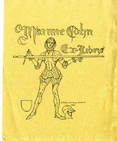 Maime Cohn Bookplate