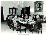 President Ford and dinner guests at White House, Washington, D.C., September 16, 1974