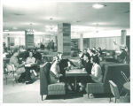 Dining in the Iowa Memorial Union, the University of Iowa, 1956