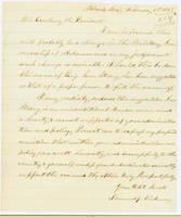 52. Iowa Gov. Samuel J. Kirkwood to Lincoln on military governorship of Arkansas