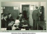 WSUI classroom broadcast, The University of Iowa, October 19, 1931