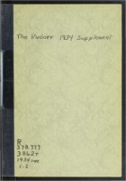 1934 Supplement of the Buena Vista University Yearbook