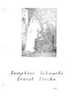 Fricke Family Genealogy, Volume II -  Josephine Schwartz & Ernest Fricke (Part X)