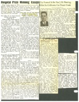 Undated clippings regarding Beaman news