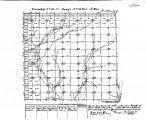 Iowa land survey map of t076n, r033w