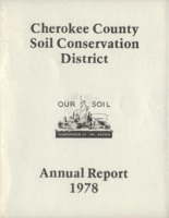 Cherokee County Soil Conservation District Annual Report - 1978