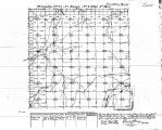 Iowa land survey map of t072n, r022w