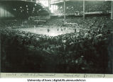 State high school basketball tournament, The University of Iowa, March 1953