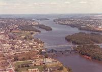 Aerials of River