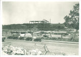 West view of Art Building construction, the University of Iowa, June 13, 1934