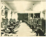 Clinic in Old Dental Building, The University of Iowa, 1911