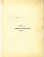 Cass County Soil Conservation District Annual Report - 1952