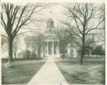 Old Capitol viewed from the east, The University of Iowa, 1920s?