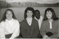 1988  Employees  Lisa Niedermeyer, Kathy Baughman, Terry Cosby, and Sally Mehaffy