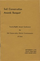 Soil Conservation Awards Banquet Program - 1974