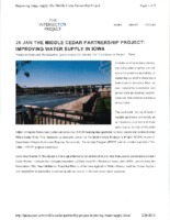 Middle Cedar Partnership Project