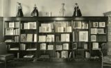 Book exhibit in the Fireplace Room (Library Staff Lounge), 1926