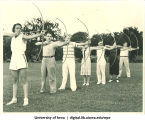 Archers, The University of Iowa, 1940s
