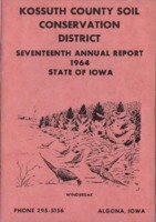1964 Kossuth County Soil and Water Conservation District Annual Report