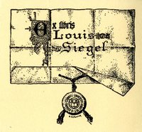 Louis Siegel Bookplate