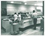 Cafeteria in Iowa Memorial Union, the University of Iowa, 1950s?