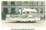 Noah's ark in Mecca Day parade, The University of Iowa, 1920