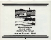 Delaware County Soil Conservation District Calendar & Annual Report - 2001