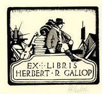 Herbert R. Gallop Bookplate