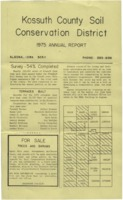 1975 Kossuth County Soil and Water Conservation District Annual Report