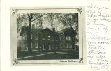 Building at Lenox College, Hopkinton, Iowa, October 2, 1907