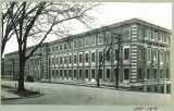 East side of Chemistry-Botany-Pharmacy Building on Capitol Street, The University of Iowa, 1920s