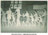 Conga line, The University of Iowa, 1938