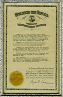010 1945 Official Certificate Of Organization