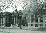 MacBride Hall, the University of Iowa, April 1955
