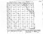 Iowa land survey map of t091n, r015w